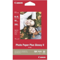 50 10x15 Photo Paper Plus PP-201, 260g/m2, glossy