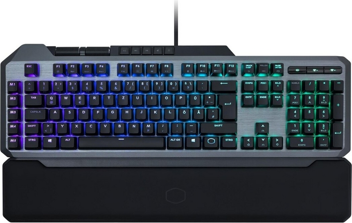 Cooler Master - MK850 - Mechanical Gaming Keyboard MX Red + Aimpad [CH Layout]