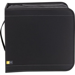 Case Logic 320+16 Capacity CD/DVD Wallet, with QuickLock - black