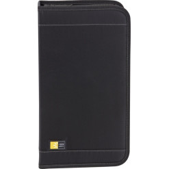 Case Logic 64+8 Capacity CD Wallet with removable visor - black