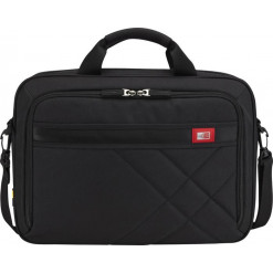 Case Logic Business Casual Topload Briefcase [15.6 inch] - black