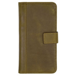 Scutes Booklet Case - Samsung Galaxy S8+ - antic brown