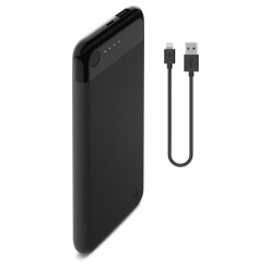 Belkin Boost Charge 5K Lightning Power Bank w/ Cable [5000mAh] - black