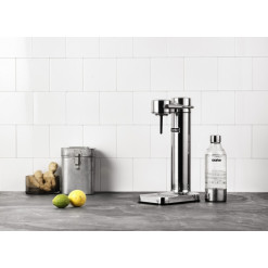 AARKE Sparkling Water Maker Carbonator II - polished steel