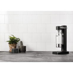 AARKE Sparkling Water Maker Carbonator II - black steel