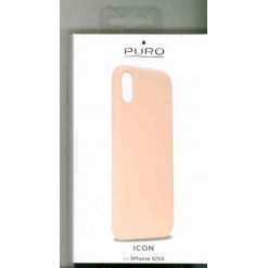 Puro Icon Cover - iPhone X/XS - rose