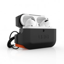 UAG Apple Airpods Pro Silicone Case - black/orange