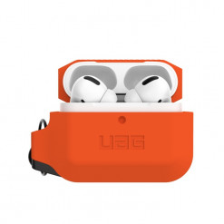 UAG Apple Airpods Pro Silicone Case - orange/black