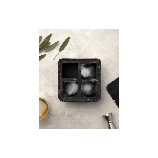 W&P Design Eiswürfelform Marble Extra Large Ice Cube Tray Weiss