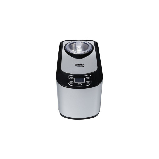 Weber Home Glacemaschine ICM-15A 1.5 l, Silber