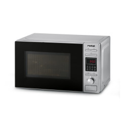 Rotel Mikrowelle mit Grill 20 l Silber