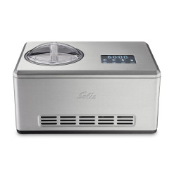 Solis Glacemaschine Gelateria Pro Touch 1.5 l, Silber