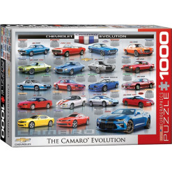 Chevrolet The Camaro Evolution - Puzzle [1000 Teile]